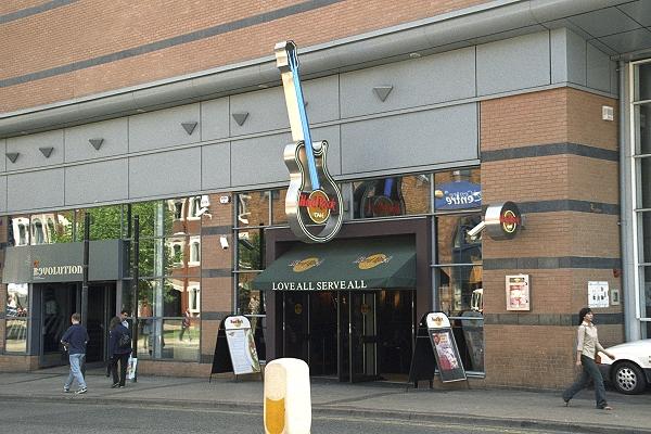 Hard Rock Cafe In Birmingham Uk