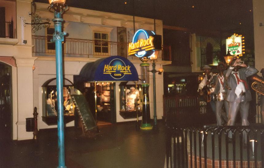 Hard Rock Cafe Menu Bahamas