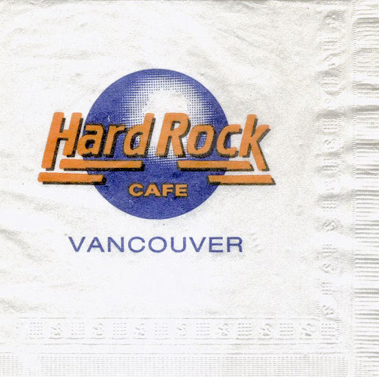 Hard Rock Cafe Vancouver Bc