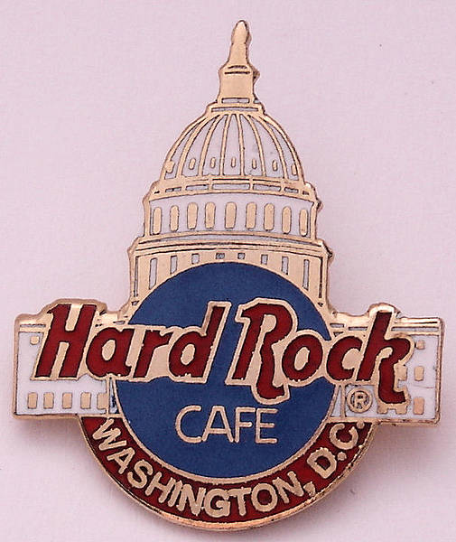 Hard Rock Cafe Salt Lake City Pin