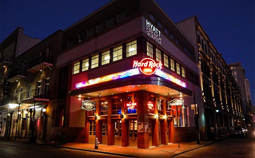 Hard Rock Cafe New Orleans New Orleans La